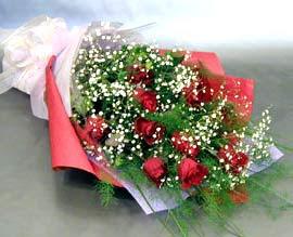 10 adet kirmizi gül çiçegi gönder  Siirt çiçekçiler