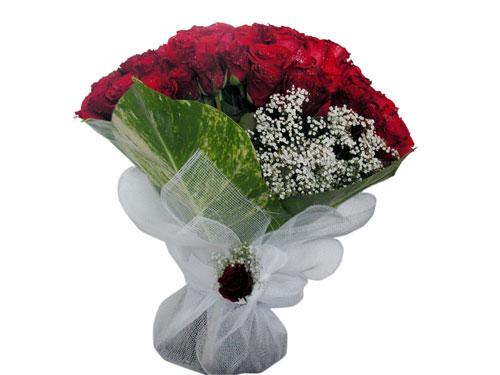25 adet kirmizi gül görsel çiçek modeli  Siirt online çiçek gönderme sipariş