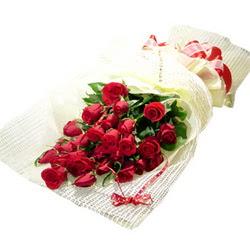 Çiçek gönderme 13 adet kirmizi gül buketi  Siirt yurtiçi ve yurtdışı çiçek siparişi