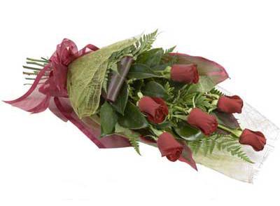 ucuz çiçek siparisi 6 adet kirmizi gül buket  Siirt çiçek yolla
