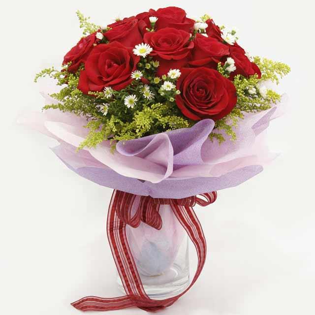 Çiçek gönderme estetikliginiz 11 gül buket  Siirt çiçek gönderme sitemiz güvenlidir