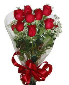Çiçek sade gül buketi 7 güllü buket  Siirt ucuz çiçek gönder