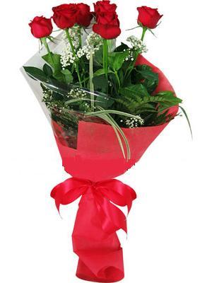 7 adet kirmizi gül buketi  Siirt hediye sevgilime hediye çiçek