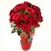 Siirt çiçek yolla   9 adet kirmizi gül