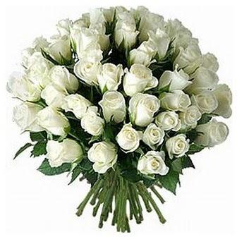Siirt online çiçek gönderme sipariş  33 adet beyaz gül buketi