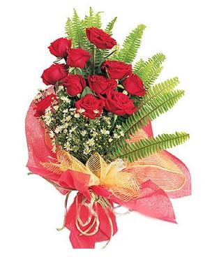 Siirt çiçek online çiçek siparişi  11 adet kırmızı güllerden buket modeli