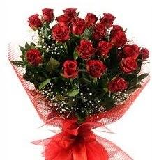 İlginç Hediye 21 Adet kırmızı gül  Siirt çiçek satışı
