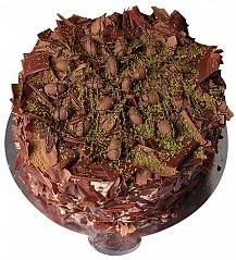 6 ile 9 kişilik Çikolatalı Drajeli yaş pasta