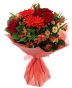 karışık mevsim buketi  Siirt çiçek satışı