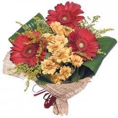 karışık mevsim buketi  Siirt çiçek gönderme sitemiz güvenlidir