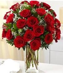 Vazo içerisinde 33 adet kırmızı gül  Siirt hediye çiçek yolla