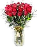 27 adet vazo içerisinde kırmızı gül  Siirt çiçek online çiçek siparişi
