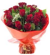 12 adet görsel bir buket tanzimi  Siirt çiçek , çiçekçi , çiçekçilik