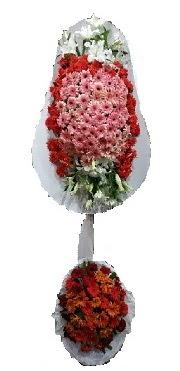 çift katlı düğün açılış sepeti  Siirt çiçek gönderme