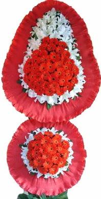 Siirt ucuz çiçek gönder  Çift katlı kaliteli düğün açılış sepeti