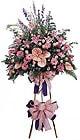 Siirt uluslararası çiçek gönderme   Ferforje Pembe kazablanka