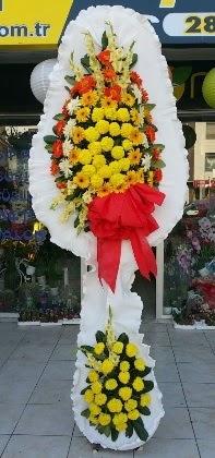 Çift katlı düğün nikah açılış çiçeği  Siirt uluslararası çiçek gönderme