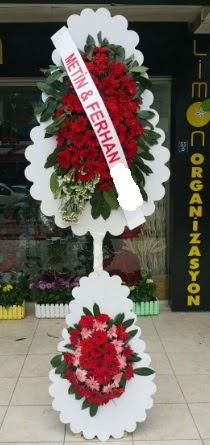 Çift katlı düğün nikah çiçeği modeli  Siirt çiçek yolla