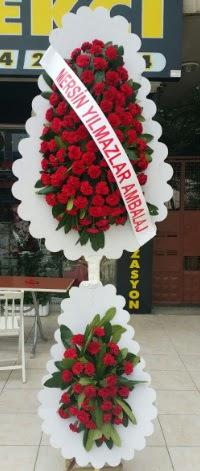 Çift katlı düğün nikah çiçeği modeli  Siirt İnternetten çiçek siparişi