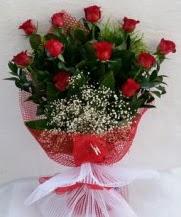 11 adet kırmızı gülden görsel çiçek  Siirt yurtiçi ve yurtdışı çiçek siparişi