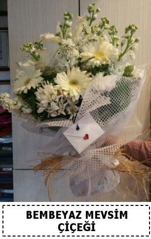 Bembeyaz görsel mevsim çiçek buketi  Siirt çiçek mağazası , çiçekçi adresleri