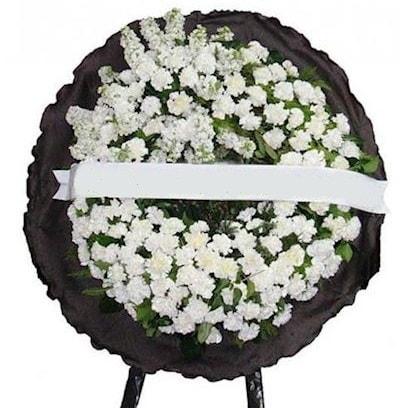 Cenaze çelengi çiçeği modelleri  Siirt çiçek gönderme
