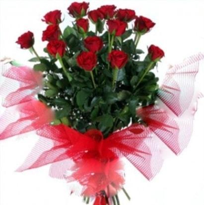 15 adet kırmızı gül buketi  Siirt hediye çiçek yolla