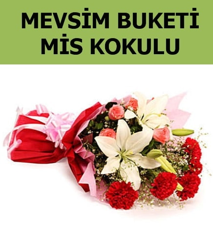 Karışık mevsim buketi mis kokulu bahar  Siirt çiçek yolla , çiçek gönder , çiçekçi
