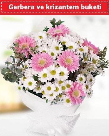 Papatya ve Gerbera Buketi  Siirt online çiçekçi , çiçek siparişi